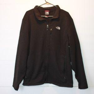 The North Face Men's XL Black Full Zip Fleece